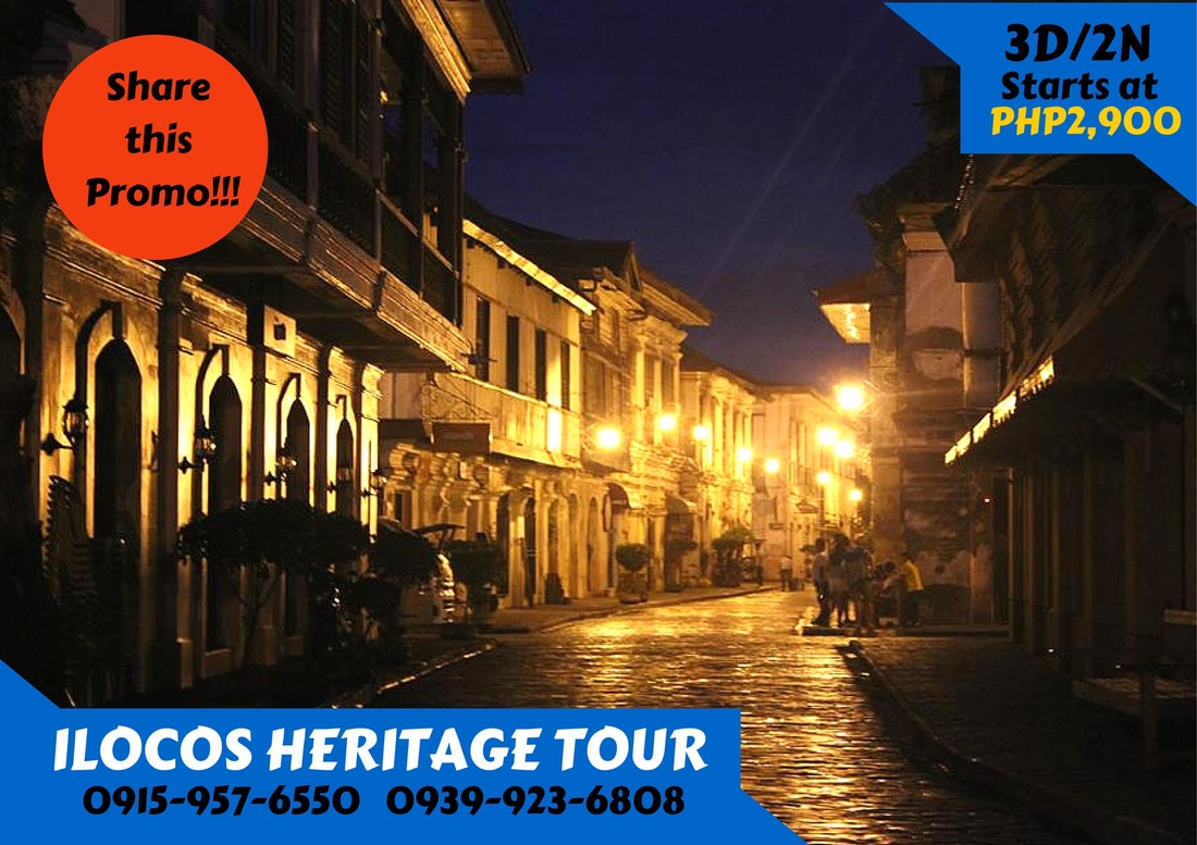 about ilocos tour Take a private ilocos tour and experience the best of the philippines with a friendly local guide.