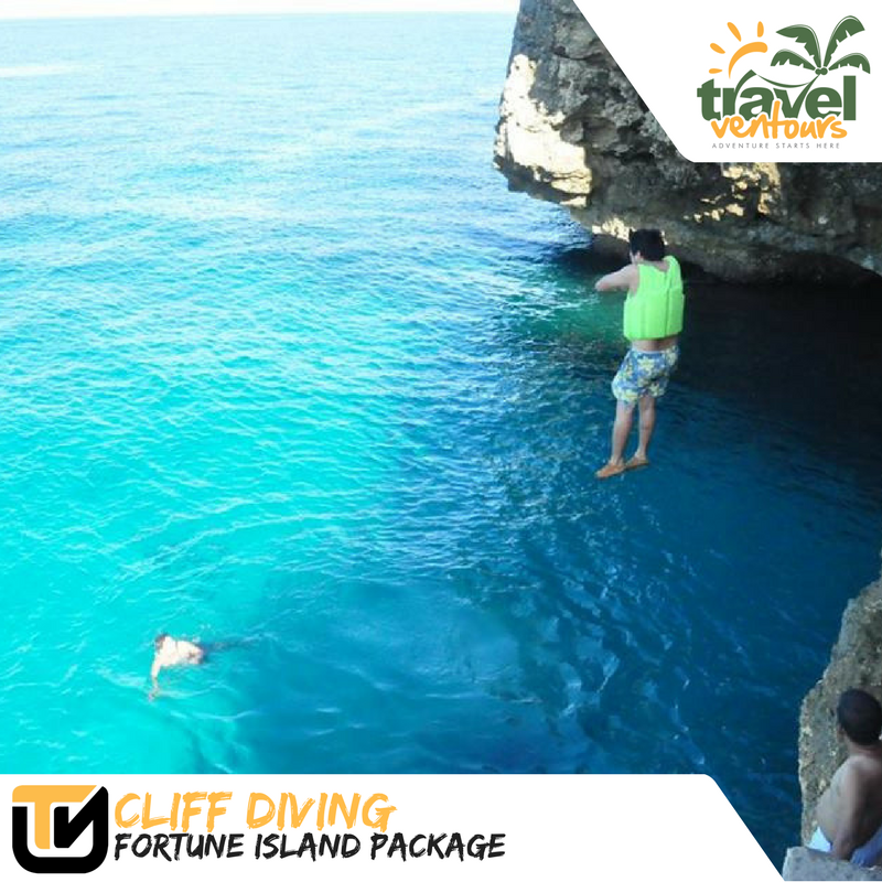 Cliff Diving Fortune Island Package