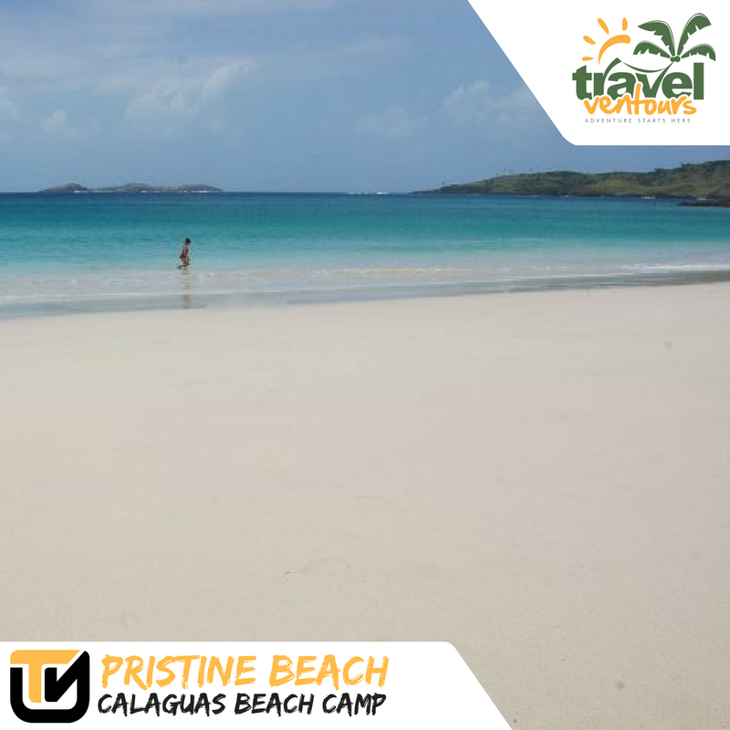 Calaguas white sand beach