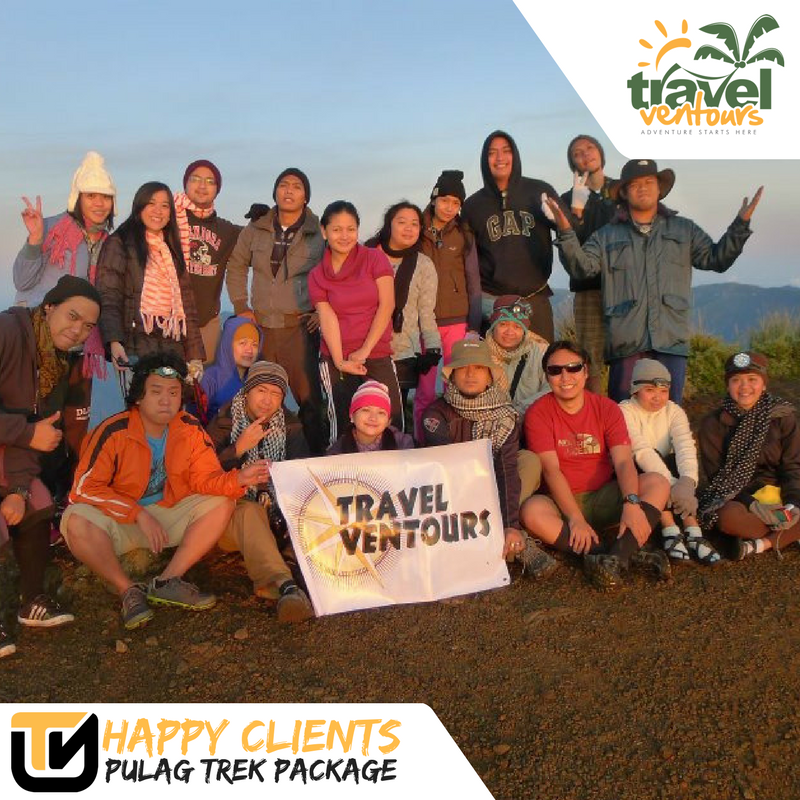 Happy Clients Pulag Trek Package