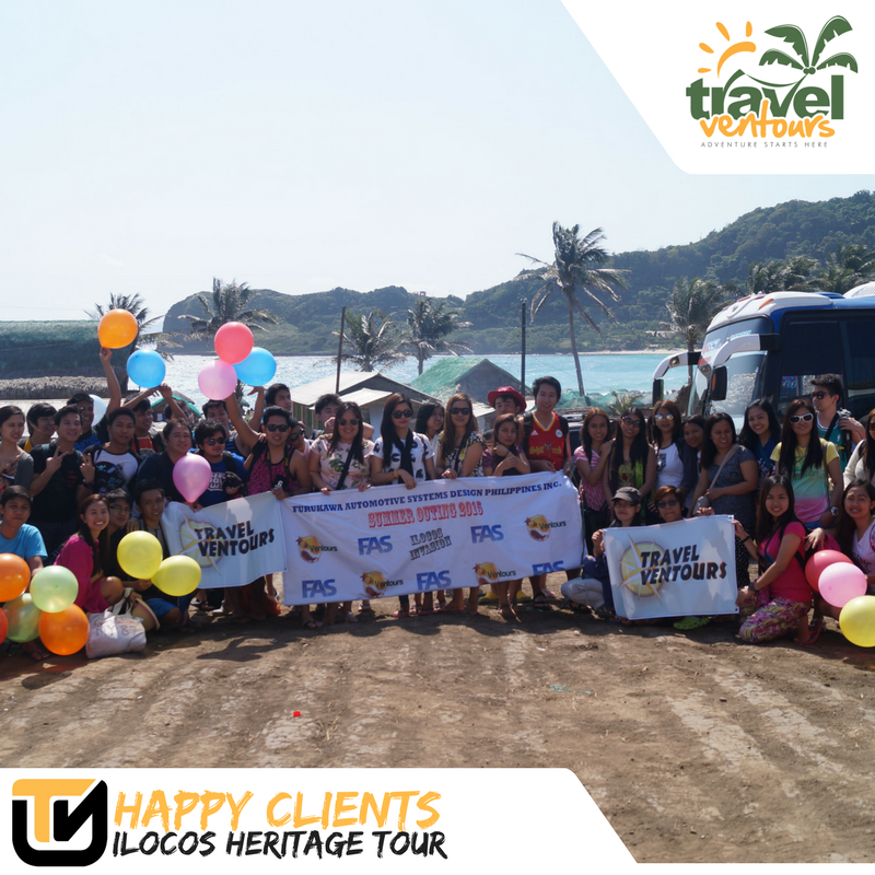 Happy Clients in Ilocos by Travel Ventours