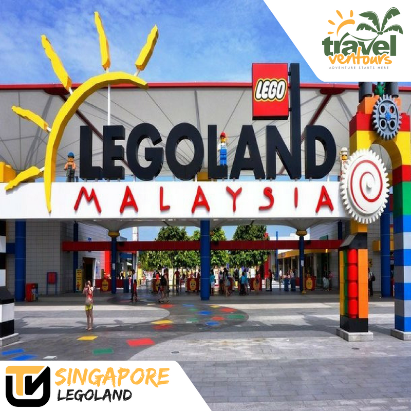 Singapore City Tour with Legoland
